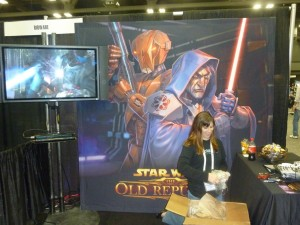 BioWare's Booth at GDC Online 2010