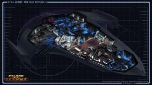 Starship Cutaway View