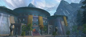 The Jedi Temple on Tython