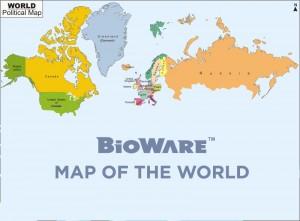 BioWare Map Of The World