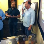 Dr. Greg Zeschuk and Rob Cowles from LucasArts