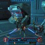 This Jedi hates droids. Hates them, I say.