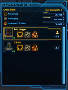 Crew Skills Management