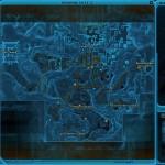 In-game map of Dromund Kaas