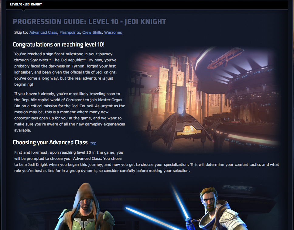 Jedi Knight Level 10 Progression Guide
